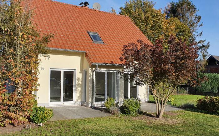Terrasse Modernes Einfamilienhaus